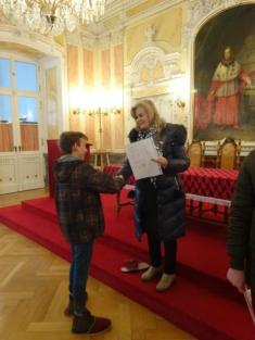 Návštěva arcibiskupského paláce 8A