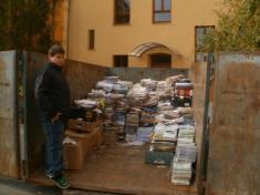 Sběr papíru za I. pololetí 2011-12