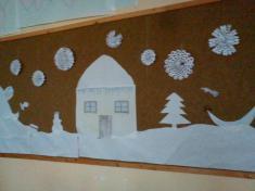 Vánoční výzdoba tříd