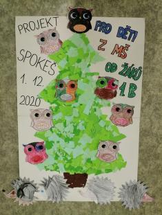 """Zhotovení plakátu """"Strom zvířátek"""" pro děti vMŠ"""