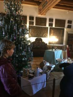 Vánoční hrad 6. ročníků