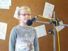 Školní kolo recitační soutěže 1. stupeň